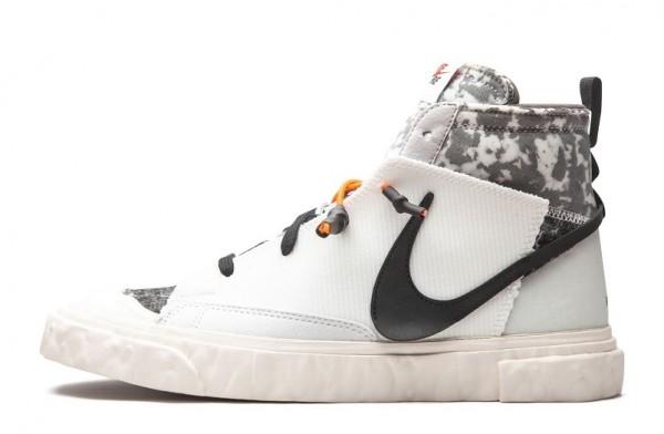 "Chaussure READYMADE x Nike Blazer Mid ""Blanc"" CZ3589-100 Pas Cher ..."